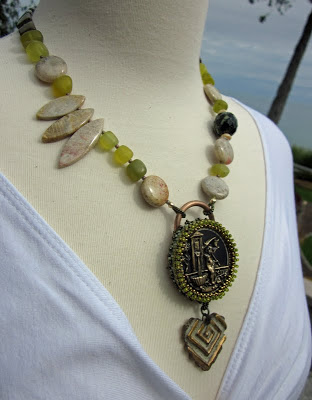 Secret Garden Necklace by Honey from the Bee