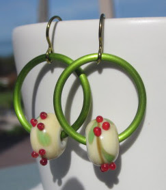 Holly Earrings by Honey from the Bee