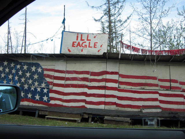 Ill Eagle Fireworks Stand, Olympic Peninsula, Washington