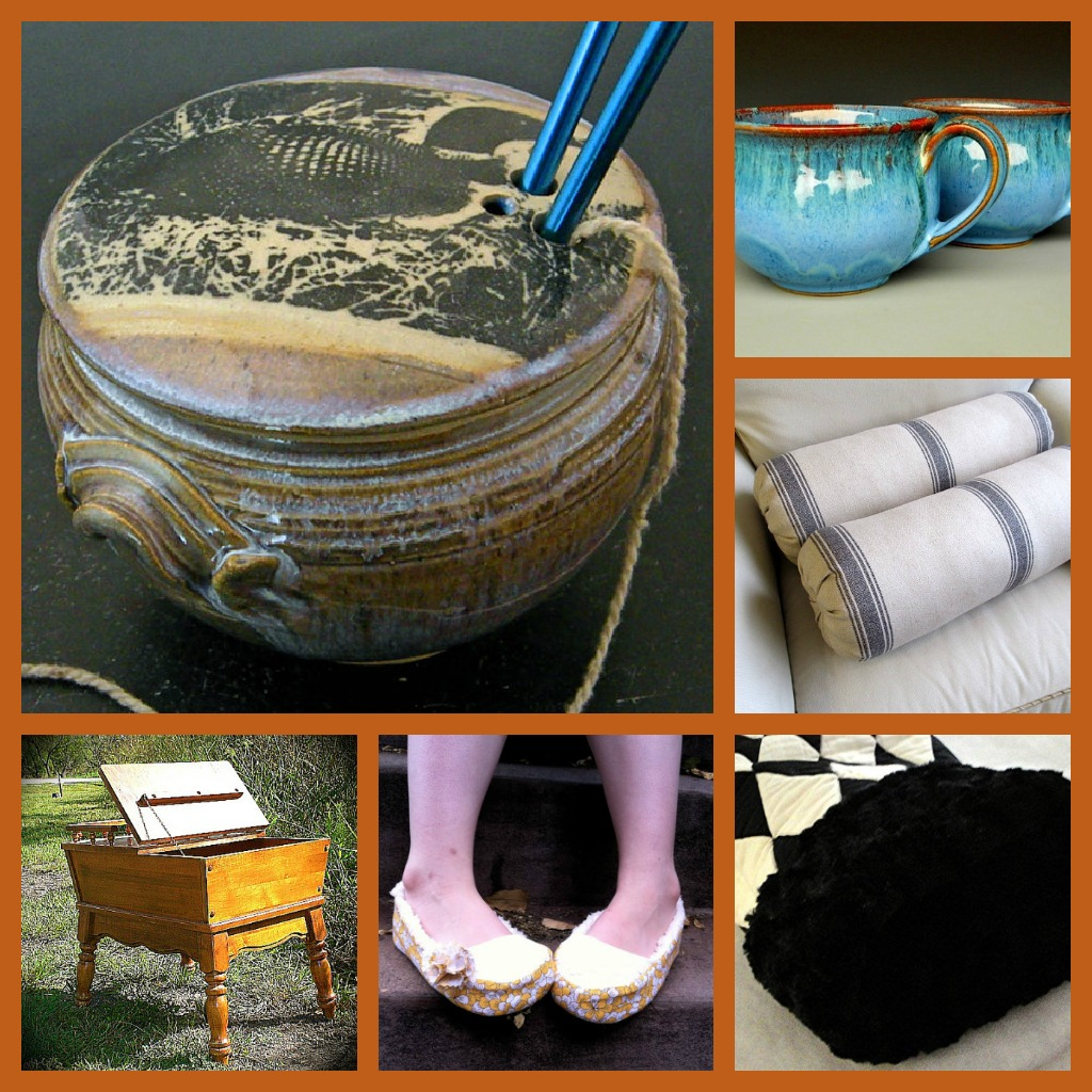 Knitting Accessories Collage