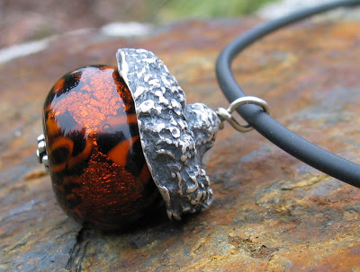 Acorn Pendant by Honey from the Bee