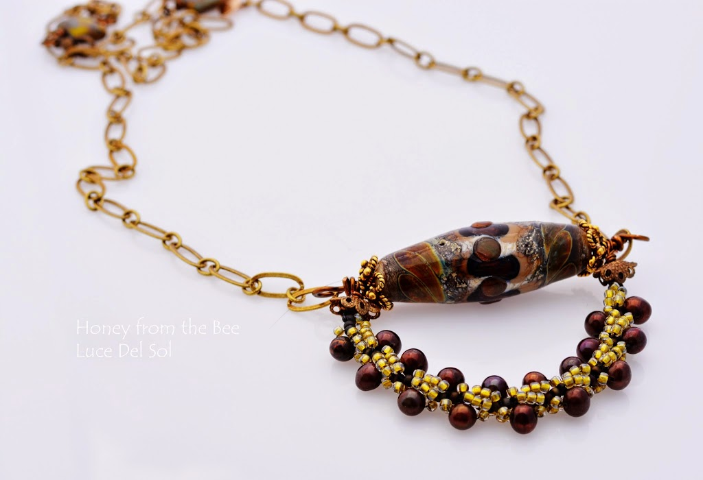Italian Inspired Statement necklace