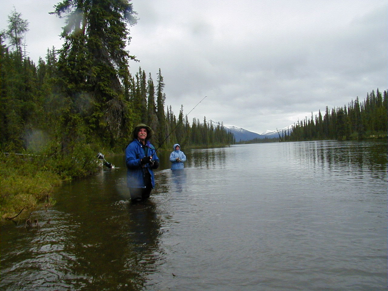 Yukon fishing