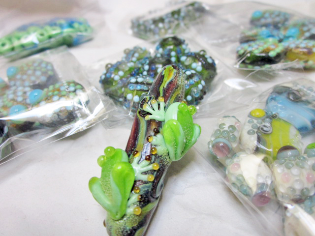 Lampwork beads by Meital for stash building