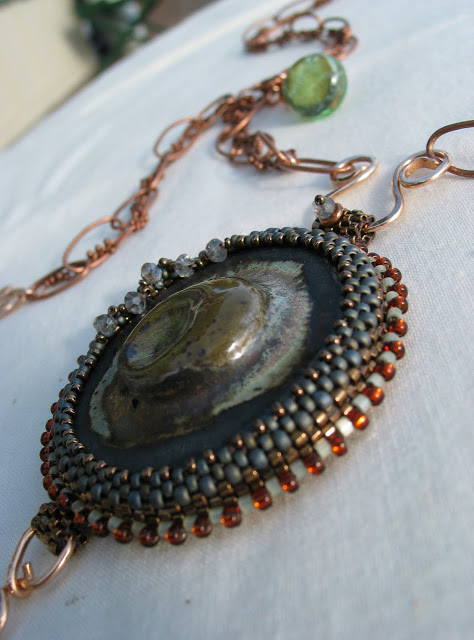Northwest Artisan Necklace by Honey from the Bee