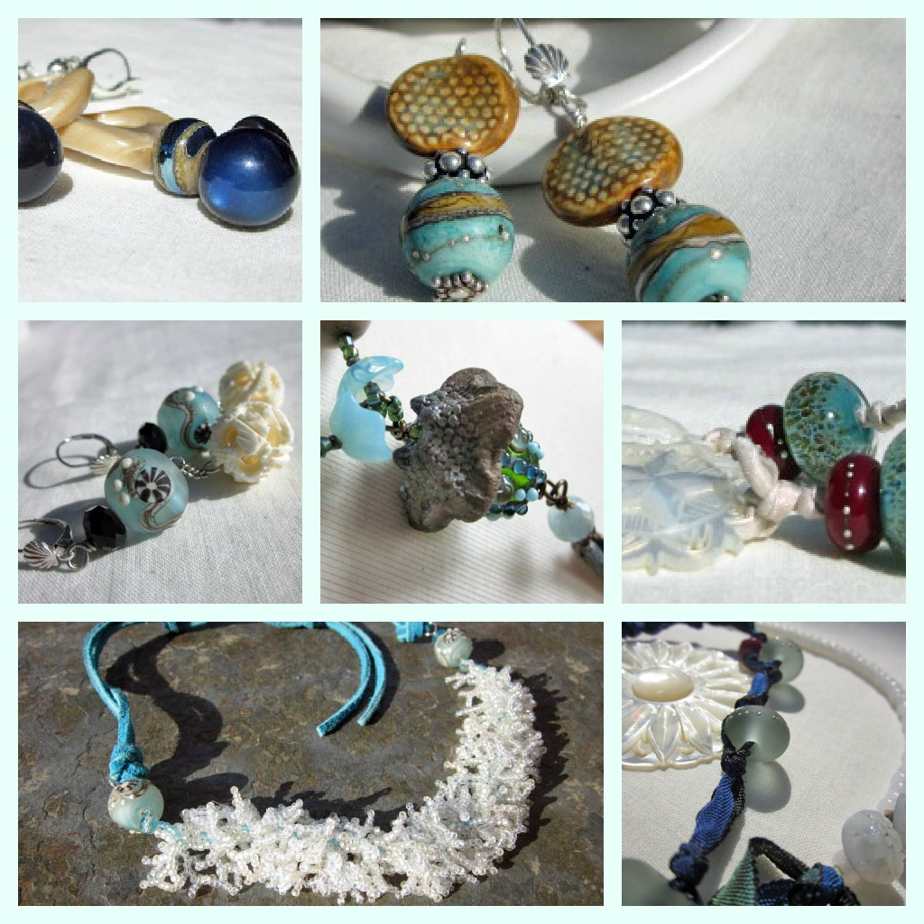 Ocean inspired artisan jewelry 2012