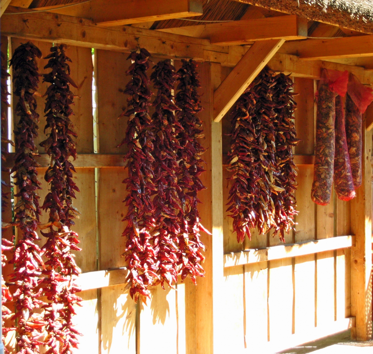 Paprika Drying Shed, Hungary