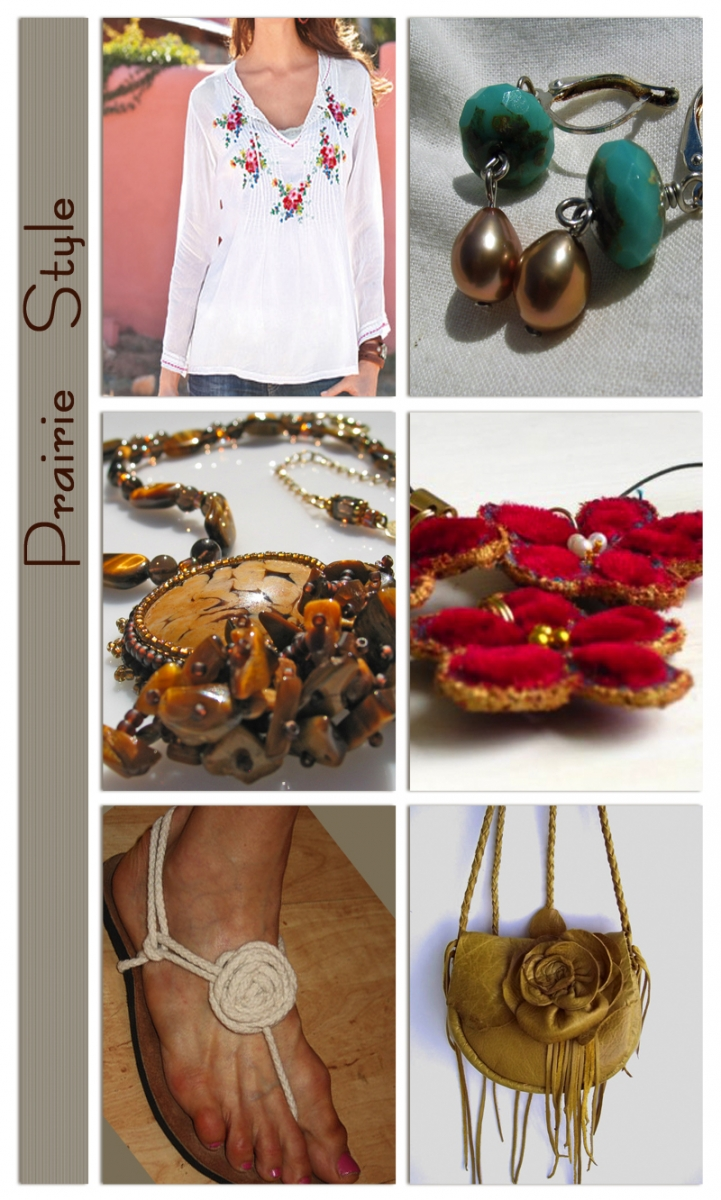 Prairie style jewelry and fashion