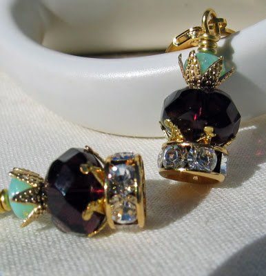 Princess Crown earrings by Honey from the Bee