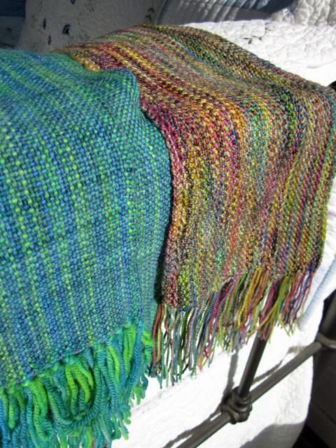 Knitted and Woven scarves