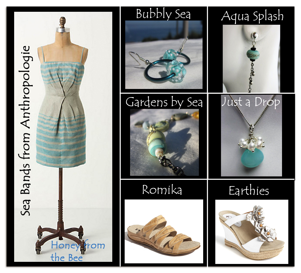 ocean inspired fashion and jewelry