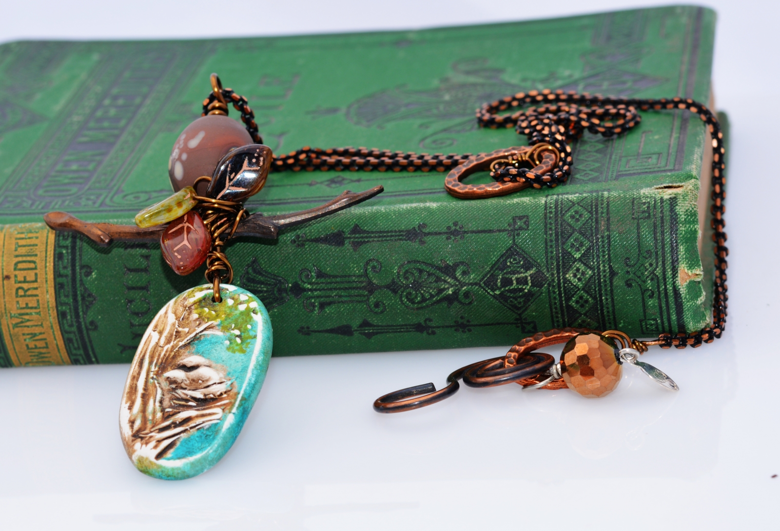 Bird's Nest Artisan Pendant by Honey from the Bee