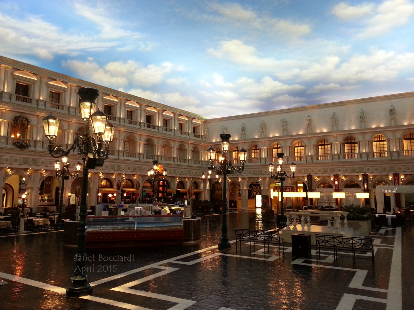St Marks Square, Canal Shoppes Vegas