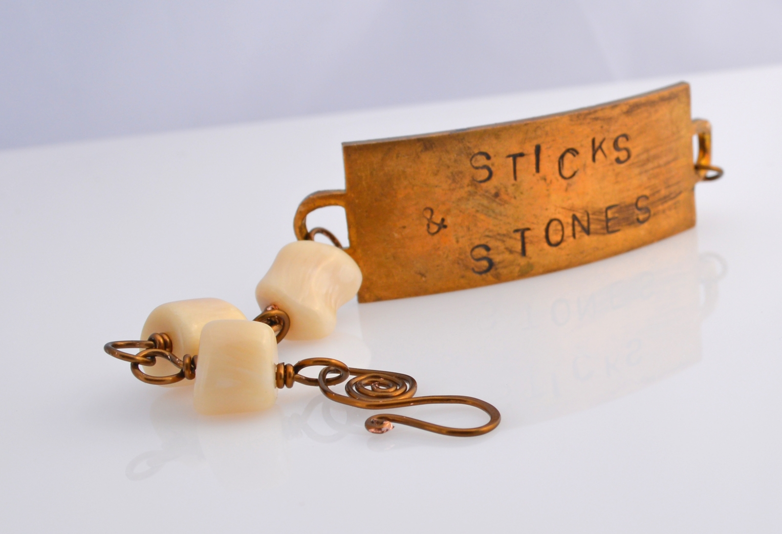Sticks and Stones bracelet