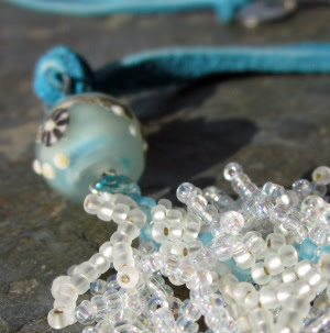 Surf necklace by Honey from the Bee
