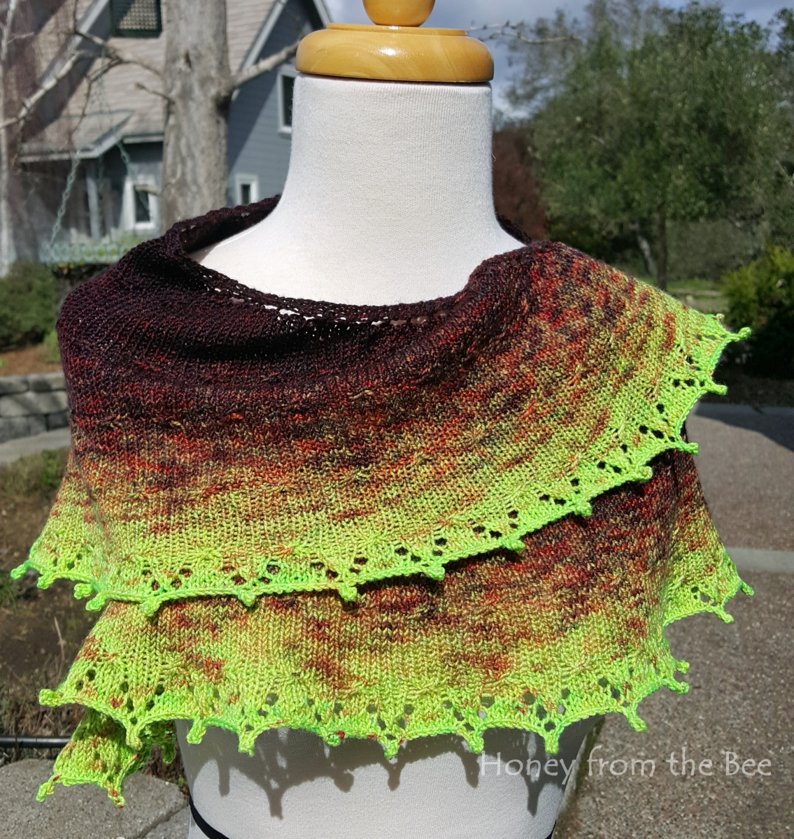 Radioactive Dragonfly Shawl