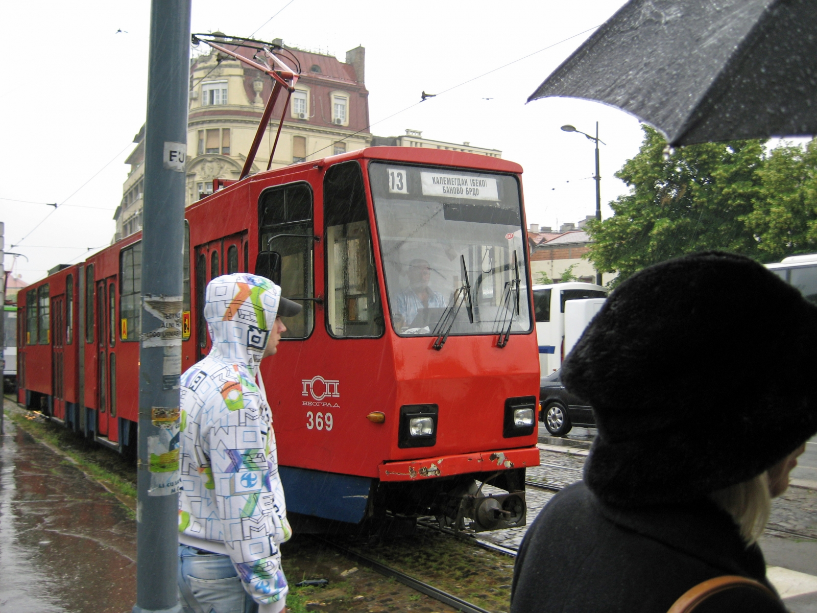Light rail in Belgrade, Serbia