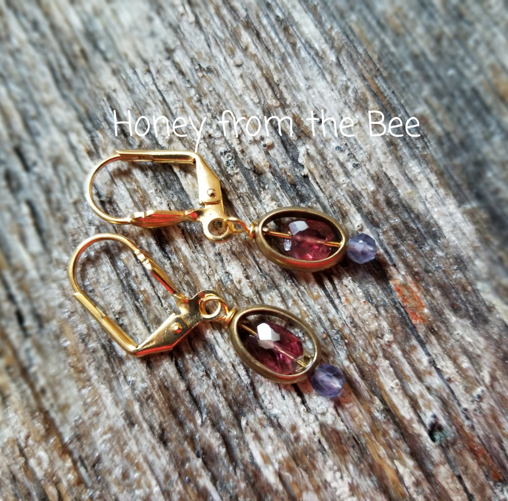 Gemstone Artisan Earrings