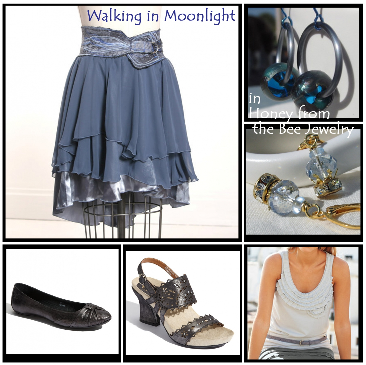 Moonlight inspired fashion and jewelry