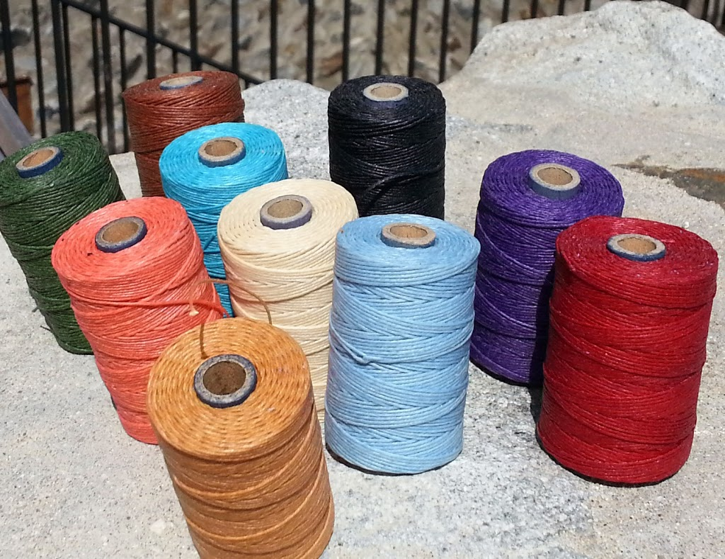 Waxed linen in many colors