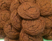 Spicy Cinnamon Sugar Mexican Chocolate Crinkle Cookies by Haute Plate - hauteplate