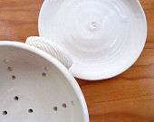 Berry Colander and Dish Set (Linen White) - baileybowls