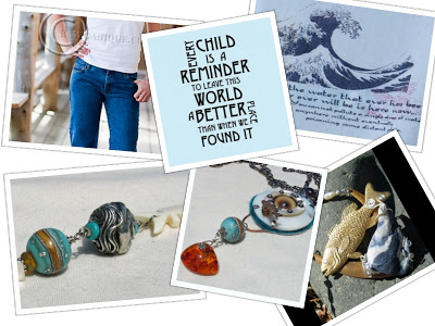 Environmental Cause inspired Jewelry and Fashion